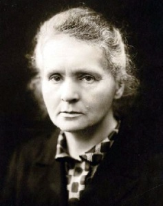 Marie Curie- Double Nobel Prize winner in Physics (1903) and Chemistry (1911) (image courtesy of Wikipedia)