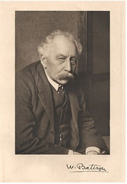 William Bateson 'Founder of the term genetics'   Image courtesy of wikipedia