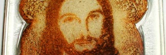 What happens in our brains when pictures of Jesus appear on our toast? Photo credit: topicagnostic/Flickr.