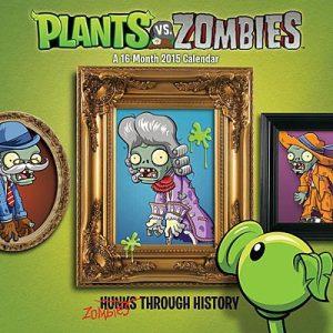 Plants vs Zombies 2015 calendar
