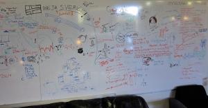 Making plans. Photo: Steve Jurvetson/Flickr.