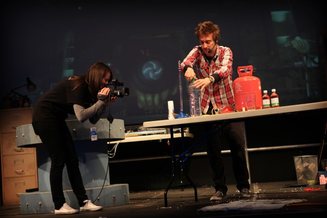 Bang Goes The Theory at the Edinburgh Science Festival