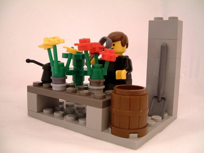 A lego Mendel - kaptainkobold's photo on Flickr